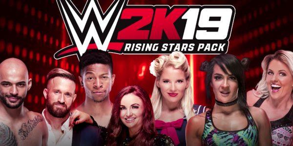 wwe 2k19 rising stars pack release date dlc superstars