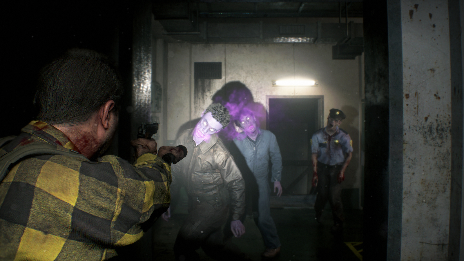 New zombie types and challenges await you in the Resident Evil 2 Ghost Survivors DLC
