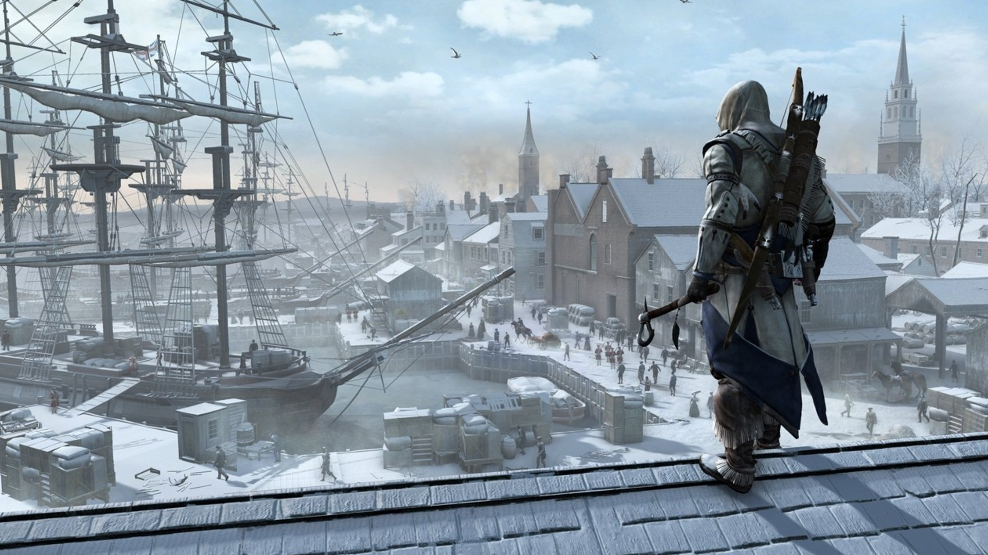 Assassin's Creed 3 Protagonist Connor Kenway