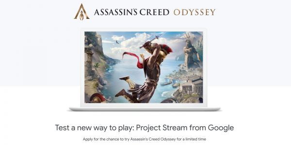 Assassin's Creed Odyssey On Project Stream Played Well