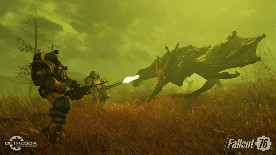 Fallout 76 Scorchbeasts and Queens Will Soon Get Changes
