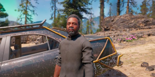 Far Cry New Dawn Guns-for-Hire Pastor Jerome