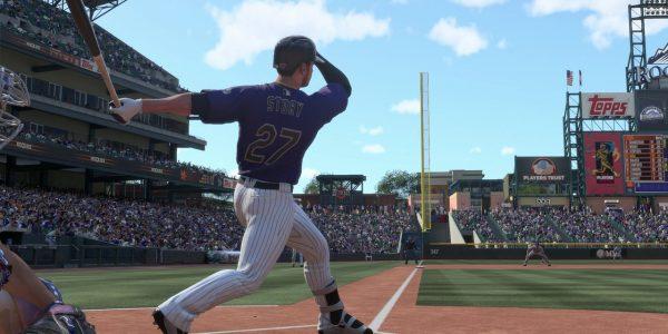 MLB The Show 19 Trevor Story