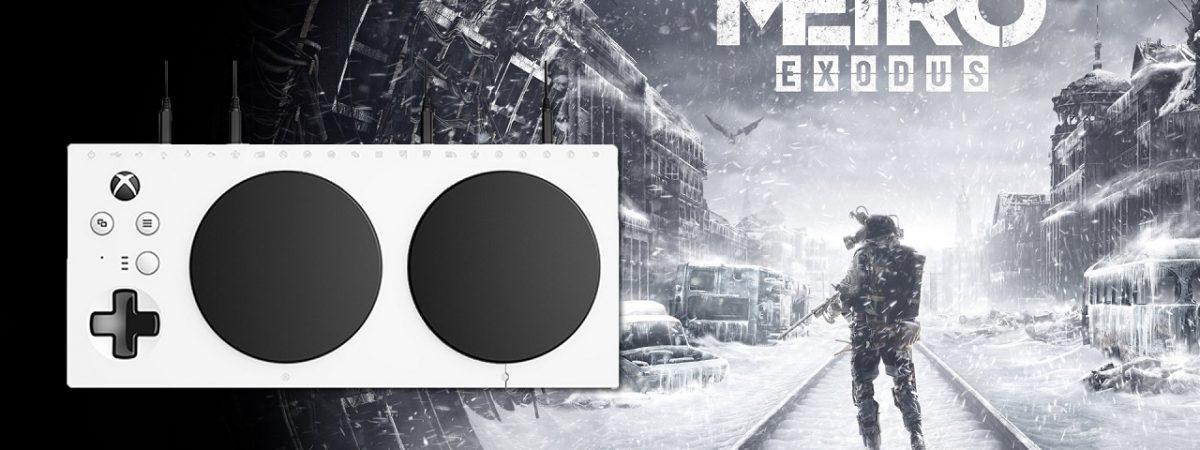 Metro Exodus Xbox Adaptive Controller Support