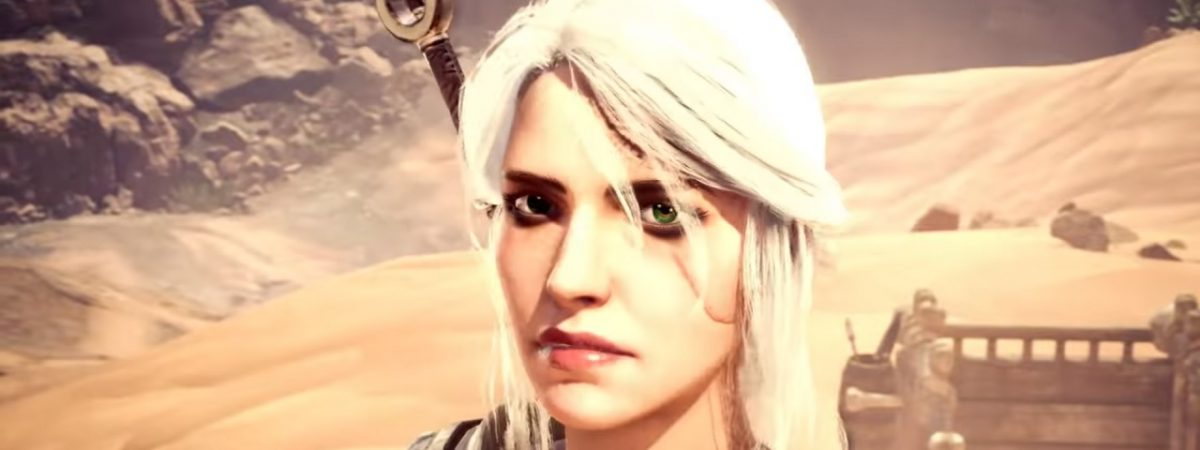 Monster Hunter World Witcher Crossover Ciri