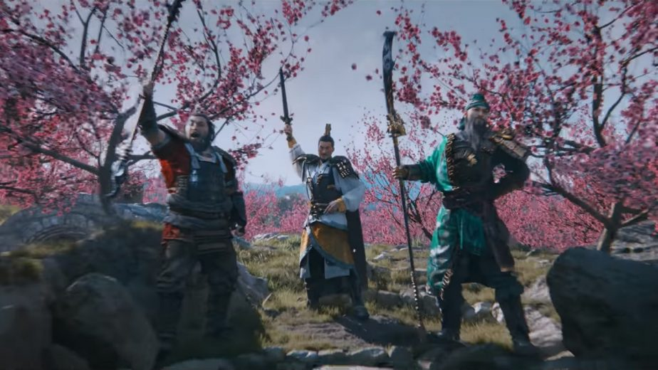 Total War Three Kingdoms Heroes Liu Bei Sworn Brothers