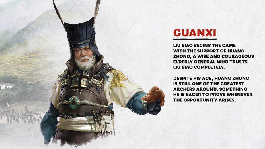 Total War Three Kingdoms Heroes Liu Biao Huang Zhong