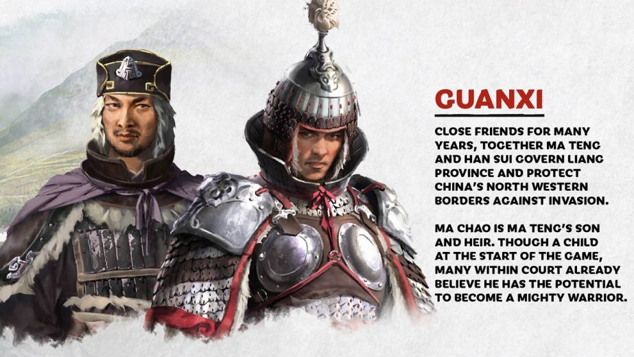 Total War Three Kingdoms Heroes Ma Teng Ma Chao