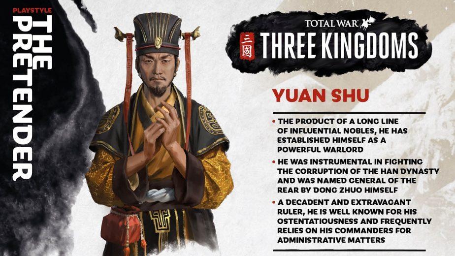 Total War: Three Kingdoms Heroes - Yuan Shu, Ambitious