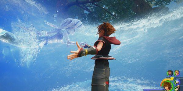 Kingdom Hearts 3 Golden Highwind