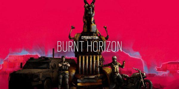 Rainbow Six Siege Operation Burnt Horizon