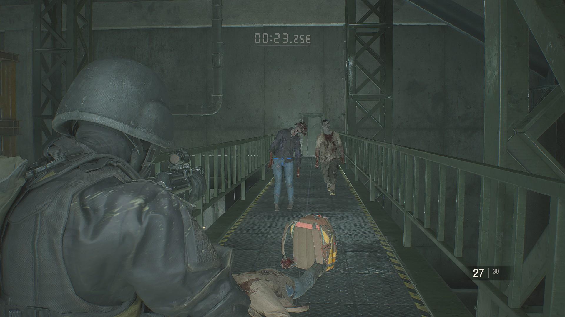 Resident Evil 2 Ghost Survivors Forgotten Soldier Gameplay Tips