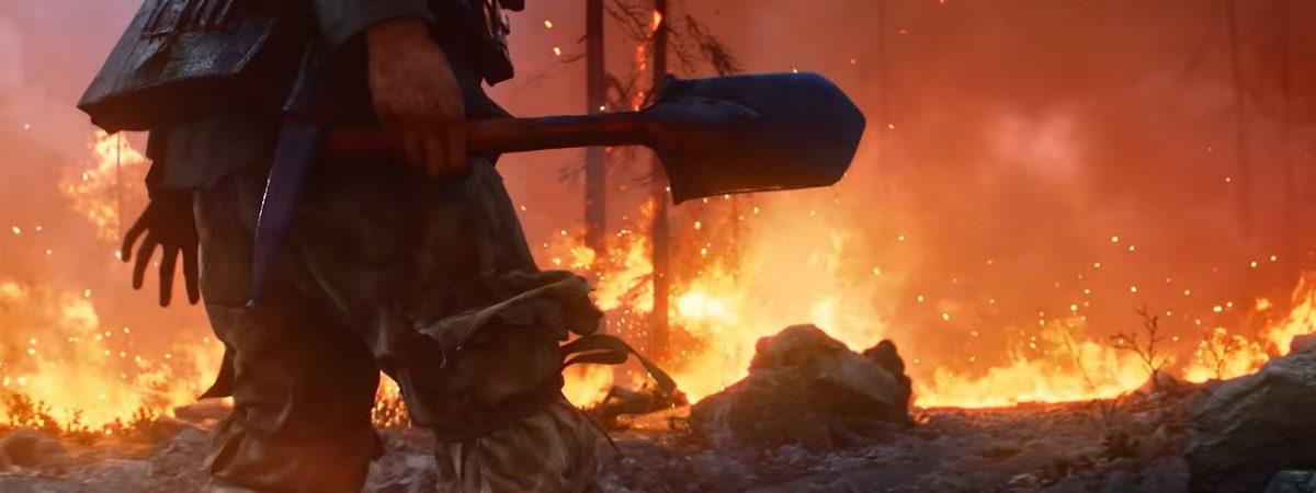 Battlefield 5 Firestorm Trailer Cover