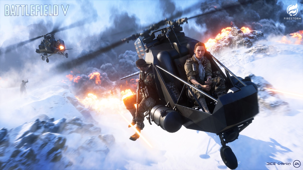 All Seventeen of the Battlefield 5 Firestorm Vehicles