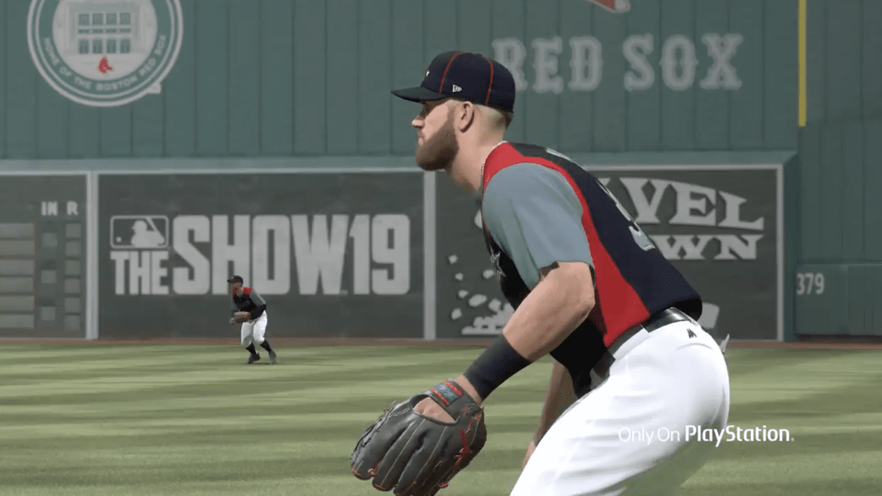 best service 7595d 82b5a MLB The Show 19: Cover Athlete Bryce Harper Shatters Jersey ...