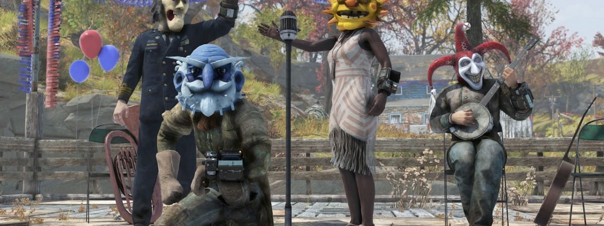 Fallout 76 Event Fasnacht Seasonal