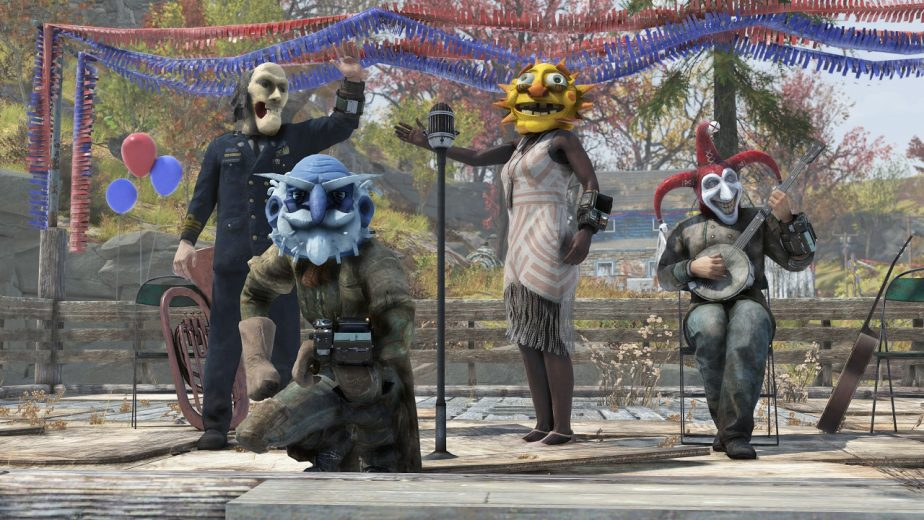 Fallout 76 Update 7 Includes Fasnacht Parade