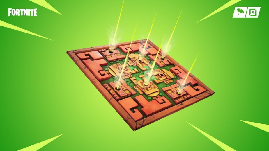 Fortnite Patch Adds Poison Dart Trap