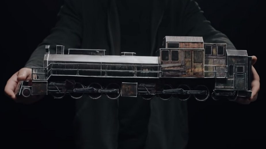 Metro Exodus Train Papercraft Aurora