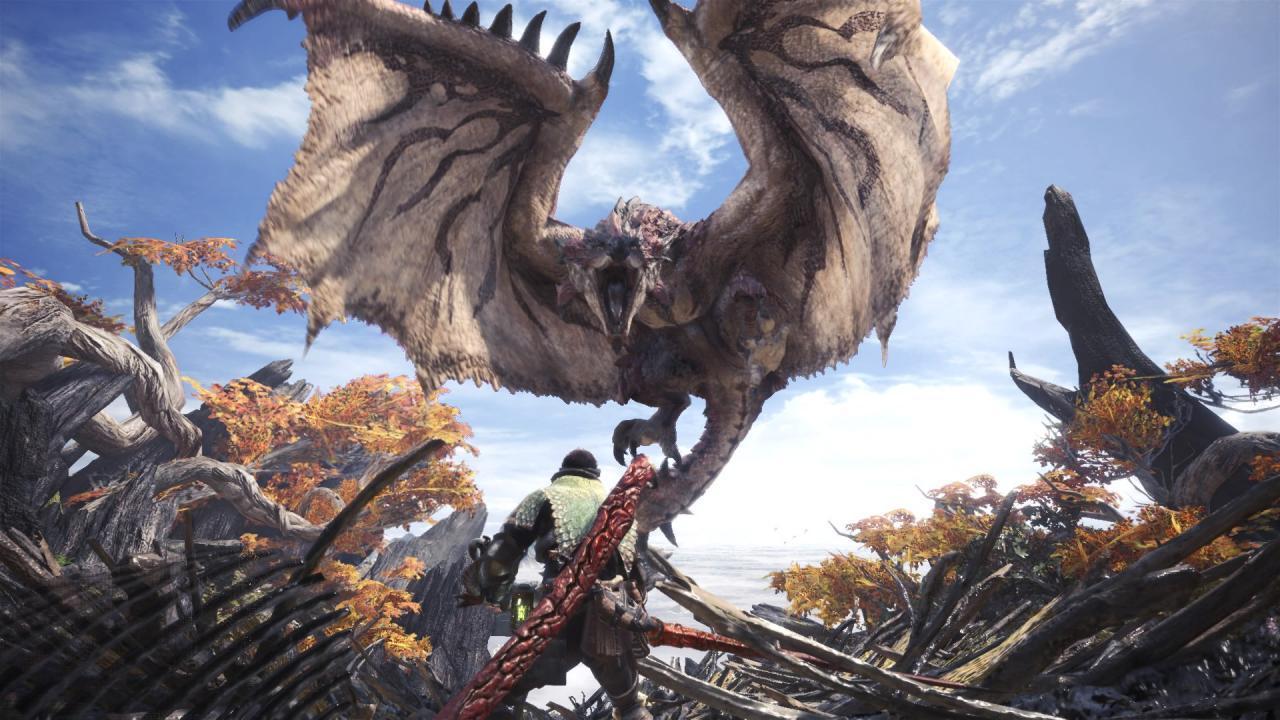 Capcom showcases the history of Monster Hunter