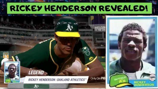 Rickey Henderson MLB The Show 19