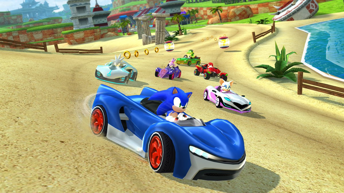 Sonic Racing Game Will Come To Ios Devices With Apple Arcade