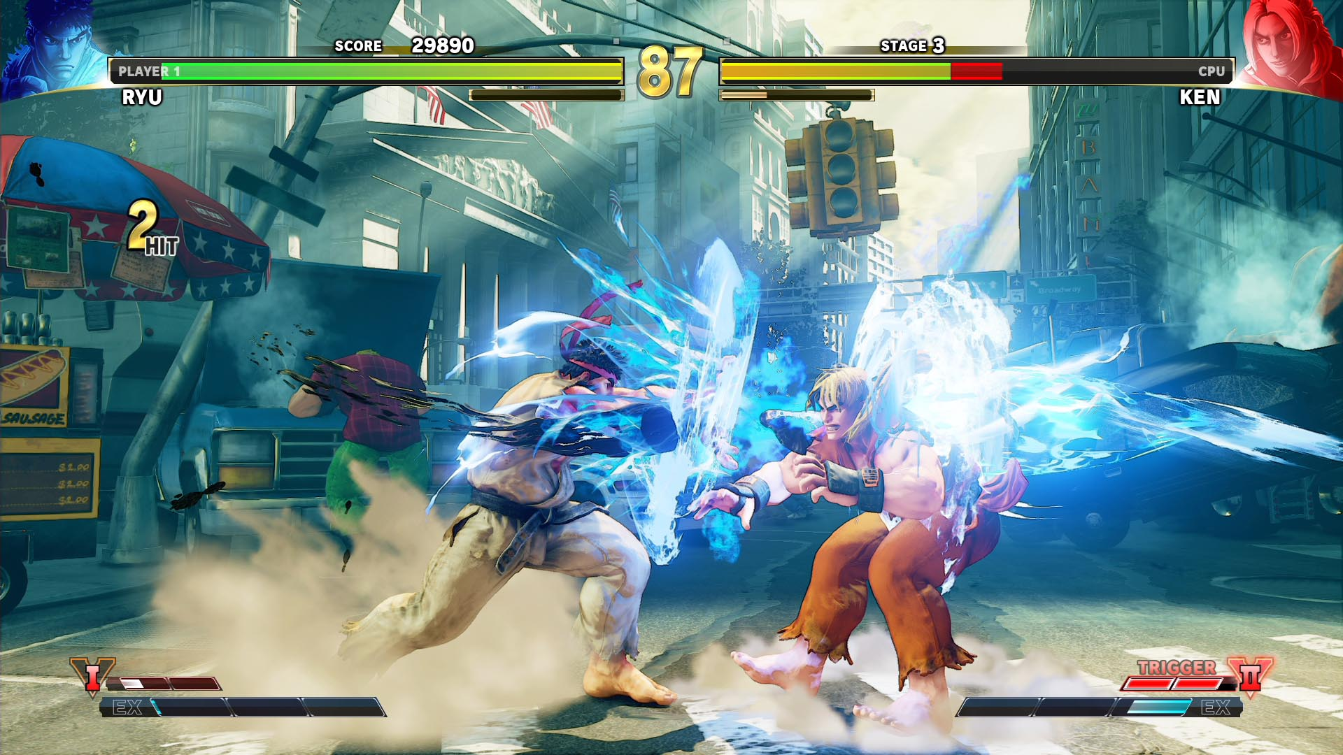 Could Street Fighter V be one of the free PS Plus games for next month?