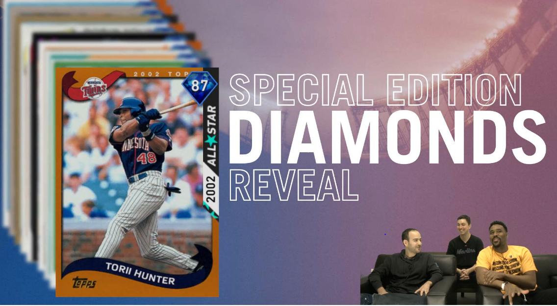 Torii Hunter Special edition Diamonds
