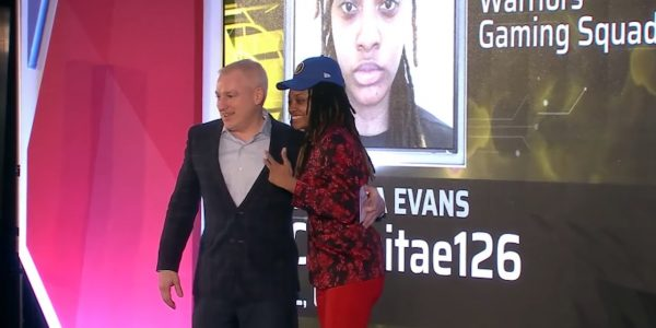 nba 2k league draft results chiquita evans first woman in league warriors