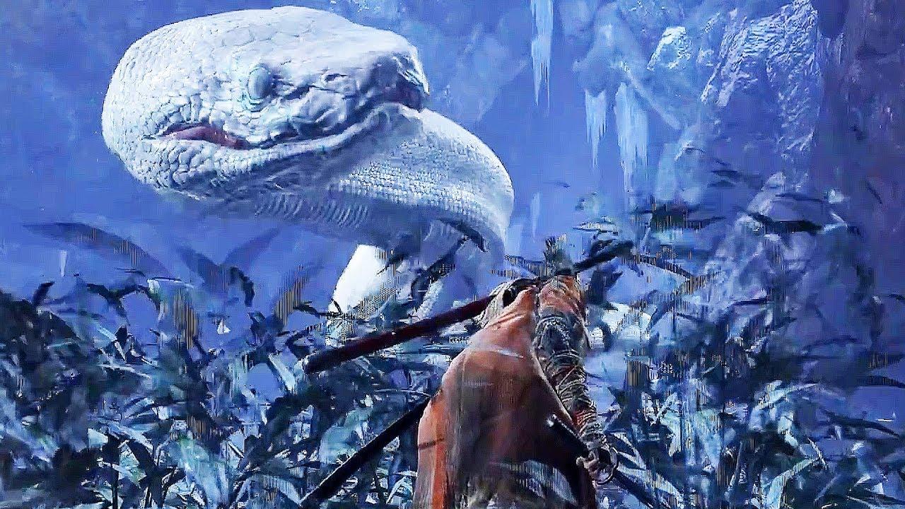Sekiro Giant Snake Encounter