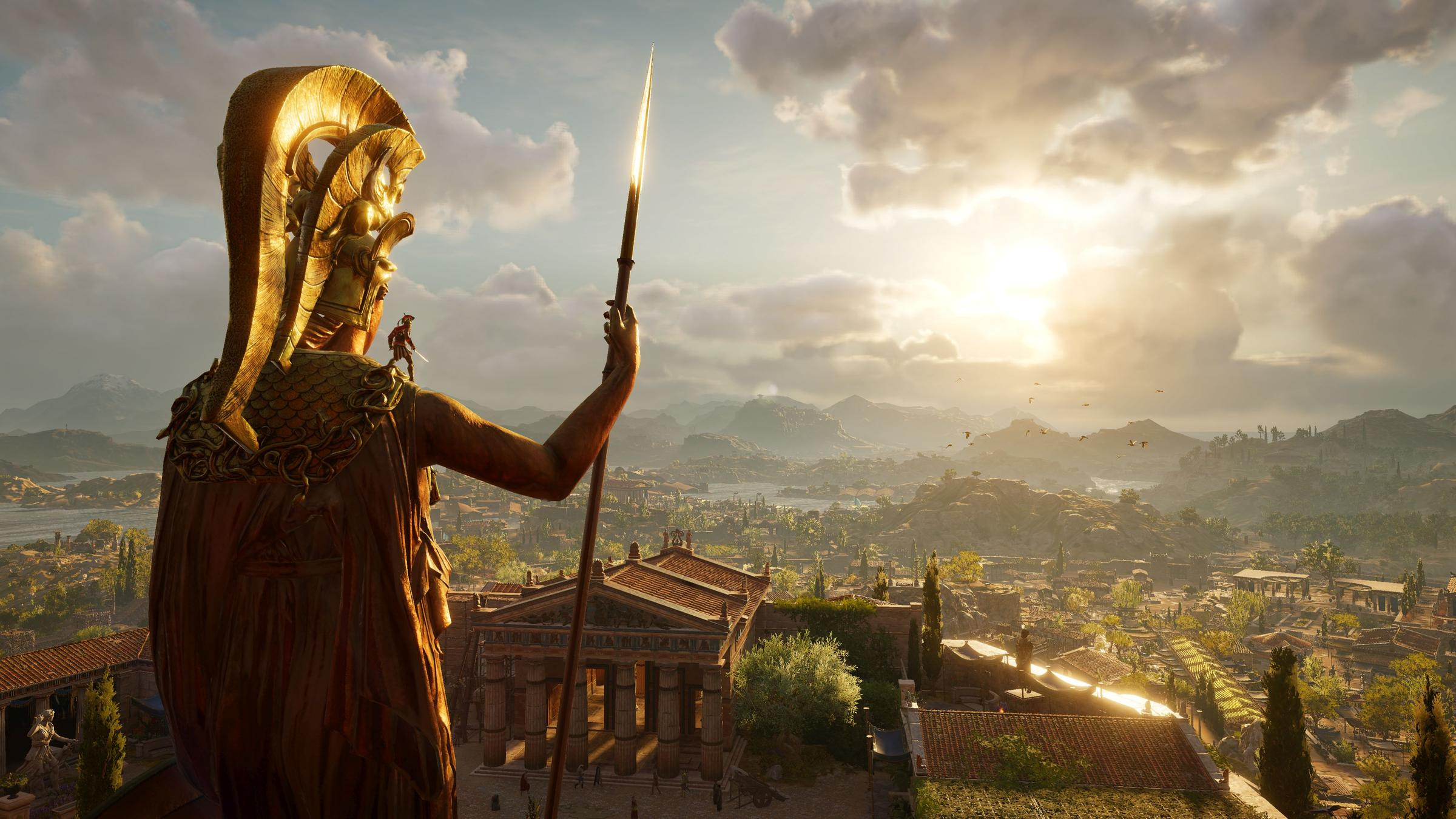 Assassin's Creed Odyssey's Setting Lends To The Game's Massive Scale