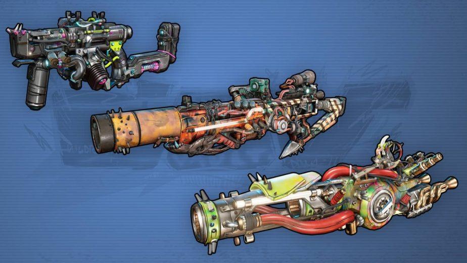 Borderlands 3 Gun Manufacturers COV