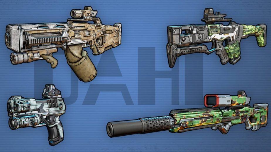 Borderlands 3 Gun Manufacturers Dahl