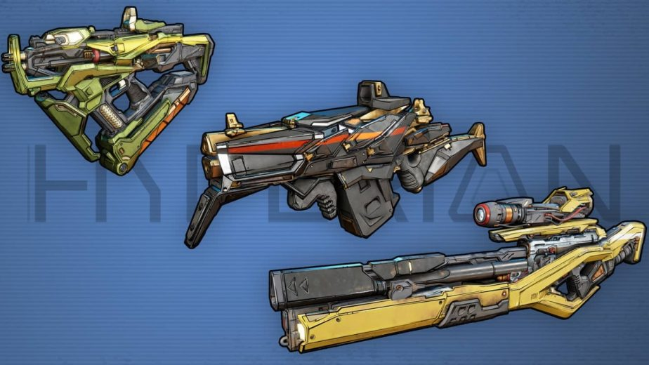 Borderlands 3 Gun Manufacturers Hyperion