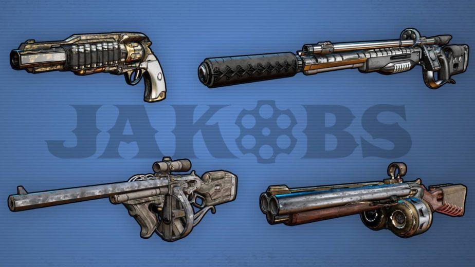 Borderlands 3 Gun Manufacturers Jakobs