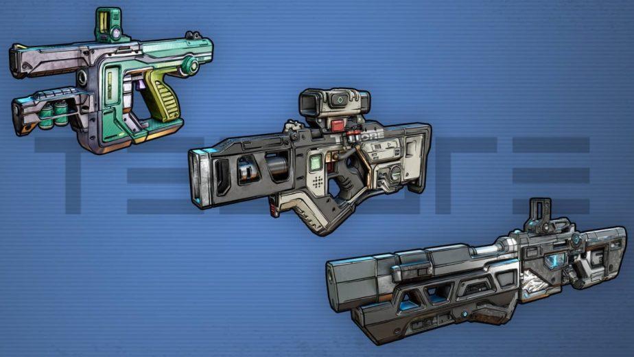 Borderlands 3 Gun Manufacturers Tediore