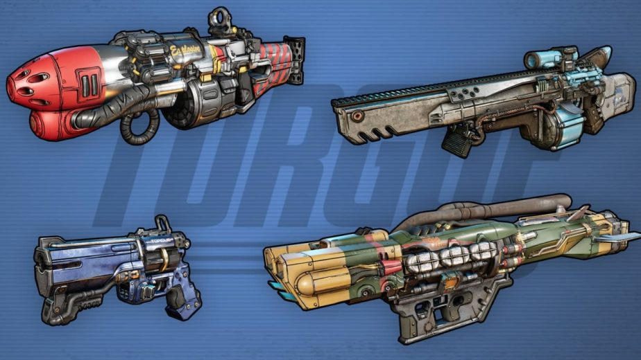Borderlands 3 Gun Manufacturers Torgue