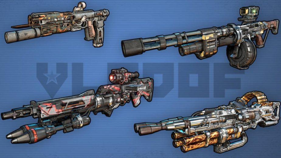 Borderlands 3 Gun Manufacturers Vladof