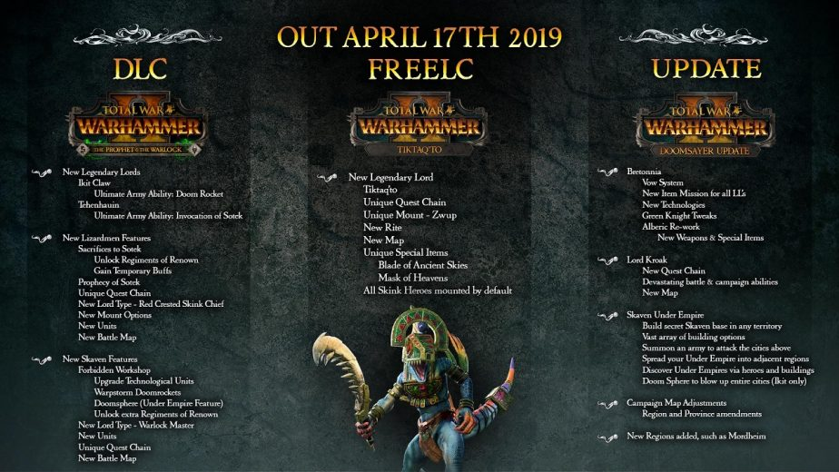 The Prophet and The Warlock DLC Launches Tomorrow
