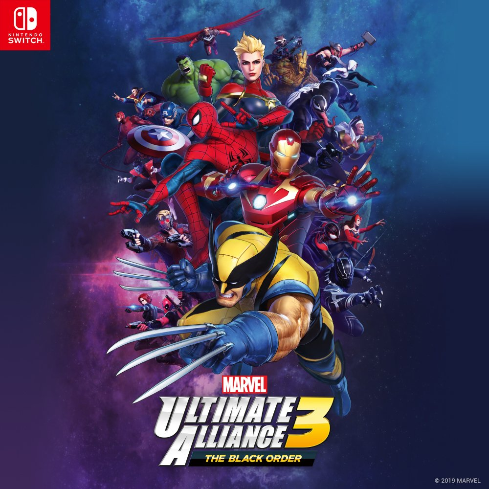 Marvel Ultimate Alliance 3: The Black Order Official Cover Art Has Been Revealed