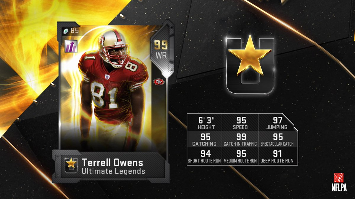 Madden 19 Ultimate Legends Cards Arrive For Terrell Owens