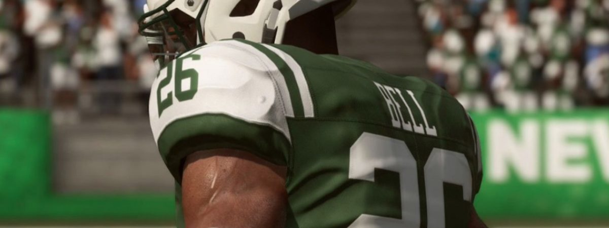 ny jets leveon bell previews sam darnold pairing in madden 19