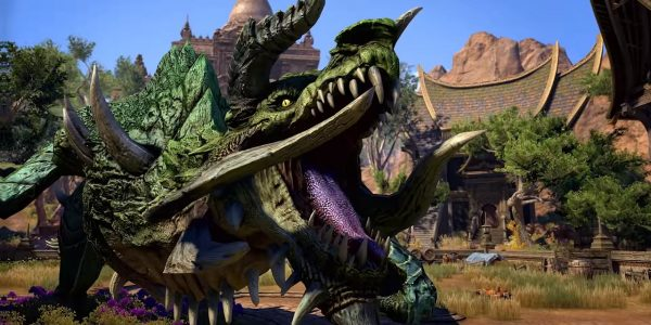 Elder Scrolls Online Elsweyr Trailer Features Dragons and Kaalgrontiid