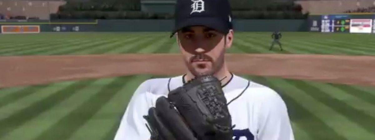 Justin Verlander as a Detroit Tiger