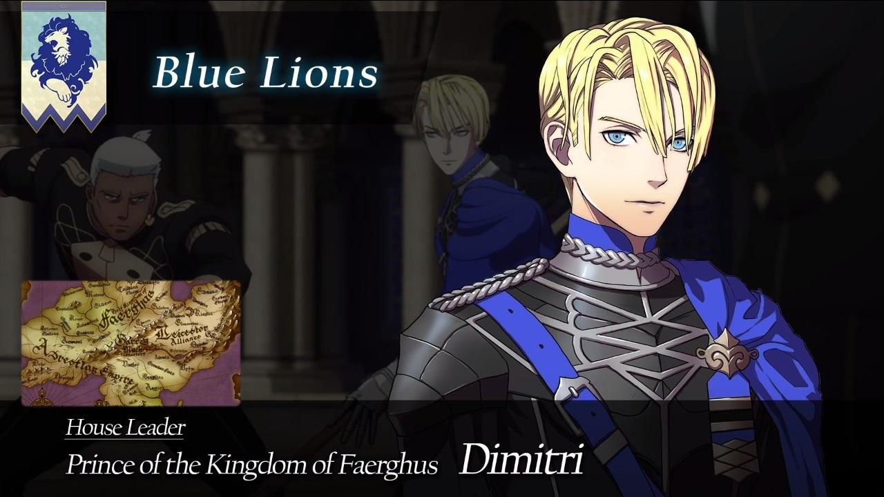 The Heir to the Royal Kingdom of Faerghus Dmitri