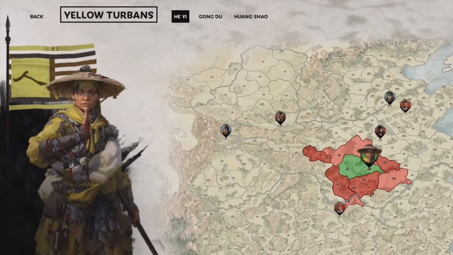 Total War Three Kingdoms Yellow Turban DLC He Yi