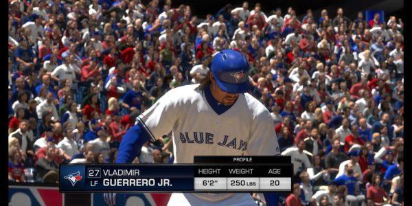 Vladimir Guerrero Jr. MLB The Show 2019