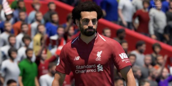 fifa 19 premier league team of the season mohammed salah