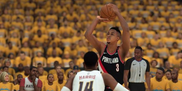 kawhi leonard cj mccollum earn nba 2k19 playoff moments cards