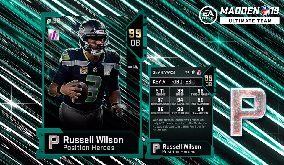 Madden 19 Position Heroes Cards Arrive for More Players
